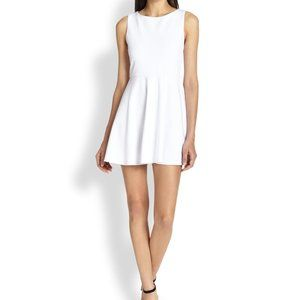 Alice and Olivia Fit and Flare Skater Dress Size M